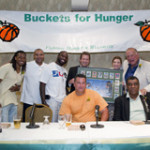 "2011 Buckets for Hunger Charity Event ""Super Bowl Trilogy"""