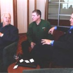 Jerry Kramer, Wayne Bisek and kramer - Buckets For Hunger